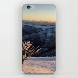 Snow on the Mountainside iPhone Skin