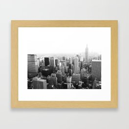 The Top of the World Framed Art Print