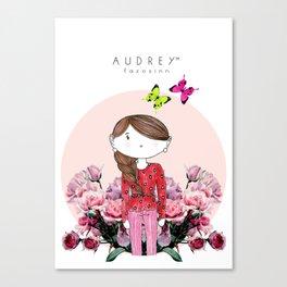 Audrey SIRI III Canvas Print