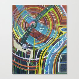 giantROBOTtears Canvas Print