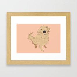 Golden Retriever Framed Art Prints Society6