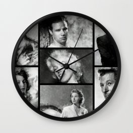 Hollywood Legends Wall Clock