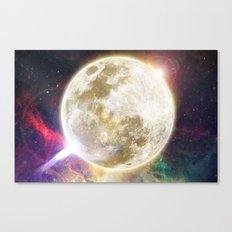 Lunar Disturbance  Canvas Print