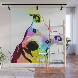 Pit bull | Rainbow Series | Pop Art Wall Mural