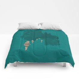 everyone his own island Comforters