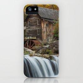 Autumn Grist Mill iPhone Case