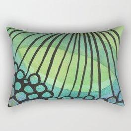 Green Power Rectangular Pillow