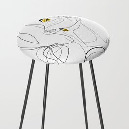 Color Beauty Counter Stool