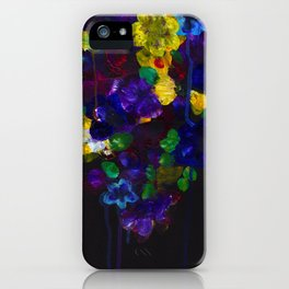 Drip Flowers - Botanical - Floral iPhone Case