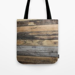 Planks Tote Bag
