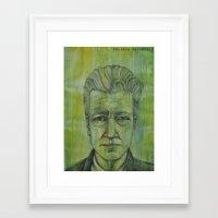 lynch Framed Art Prints featuring Lynch by musentango87