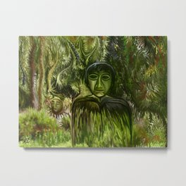 Figure in the Forest by rafi talby Metal Print