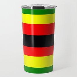 Flag of Zimbabwe Travel Mug