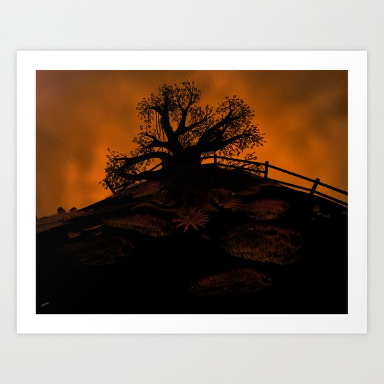 The Forlorn Tree Art Print