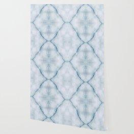 Light blue marble texture Wallpaper