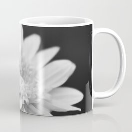 Black and White Flower Coffee Mug