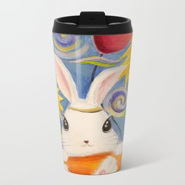 Dreamland Bunny Metal Travel Mug