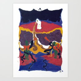 Vomit Upon Heavens Ashes Art Print