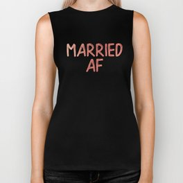 Married AF Biker Tank