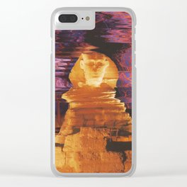Sphinx Blinks Clear iPhone Case
