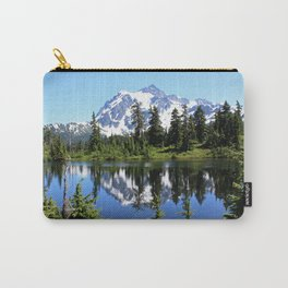 Mt. Shuksan and Reflection Carry-All Pouch