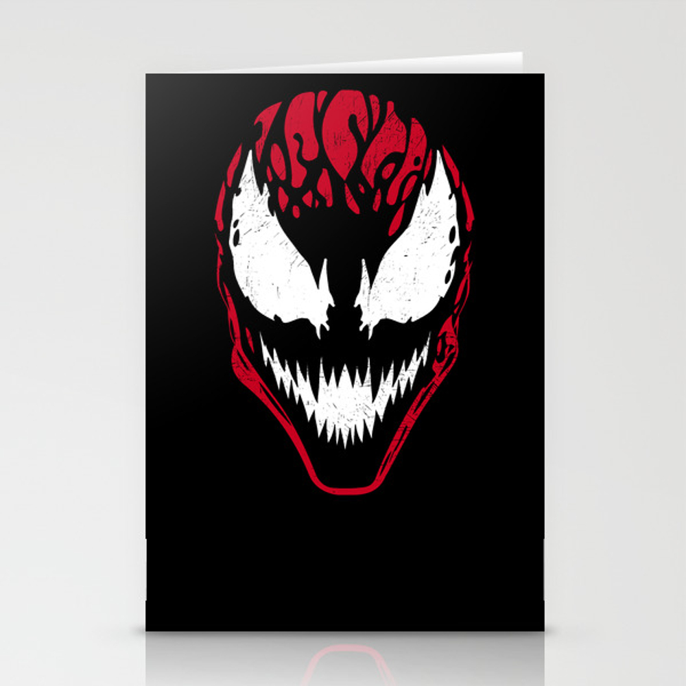Carnage Stationery Cards by Mitxel CRD8678591