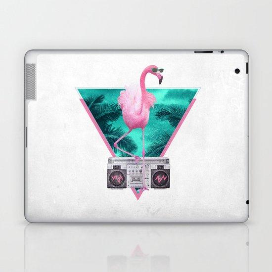Miami Flamingo Laptop & iPad Skin