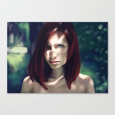 Beautiful Red Canvas Print