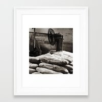 bread Framed Art Prints featuring Bread  by Ethna Gillespie