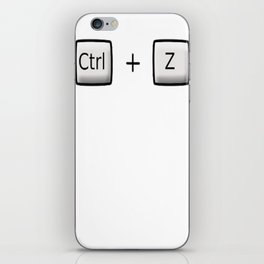 Ctrl + z iPhone Skin