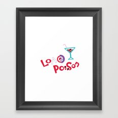 Love Poison 002 Framed Art Print