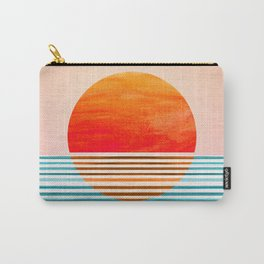 Minimalist Sunset III Carry-All Pouch