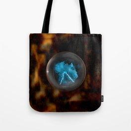 Crystal Ball Mystic Powers Tote Bag
