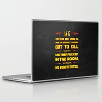 tarantino Laptop & iPad Skins featuring JackieBrown by Fimbis