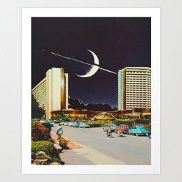 'Paradise night' Art Print