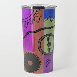 avant-garde still life . art Travel Mug
