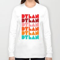 dylan Long Sleeve T-shirts featuring Dylan by Jeremy Lin