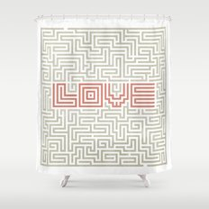 Love game Shower Curtain