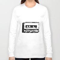 cassette Long Sleeve T-shirts featuring cassette by Gabriel