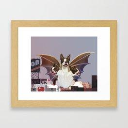 King Pupdorah Framed Art Print