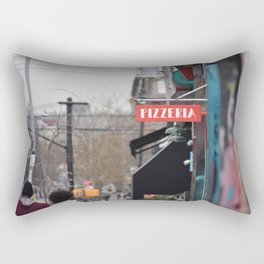 A Street in Bushwick Rectangular Pillow