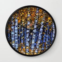 :: Birch Balustrade :: Wall Clock