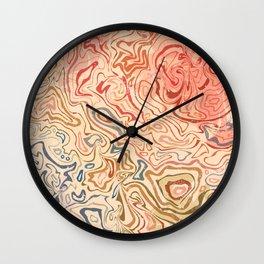 Rock Pool Wall Clock