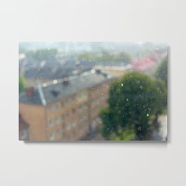 Rain through sunshine Metal Print