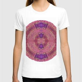 327 - Abstract Lighttrails Orb Design T-shirt