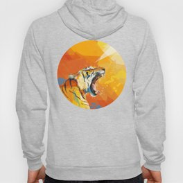 Tiger in the morning Hoody