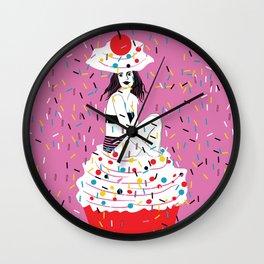 sprinkle the love Wall Clock