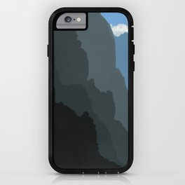 Fading away iPhone Case