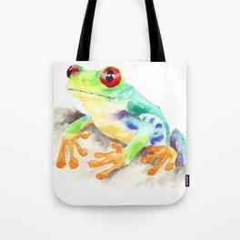 Tree Frog Tote Bag