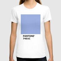 pantone T-shirts featuring PANTONE 7451C by cvrcak